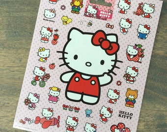 One sheet of Hello Kitty stickers (ST06)