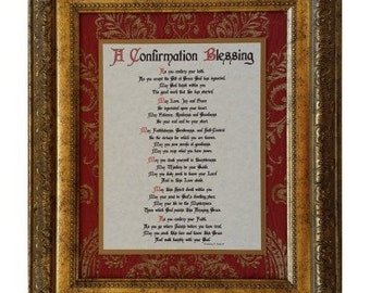 A Confirmation Blessing-Traditional Heirloom Collection