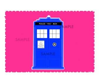 Doctor Who Eleventh Doctor TARDIS Pink