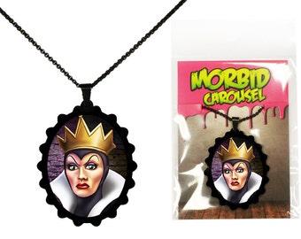 Disney Villains Snow White Evil Queen Necklace