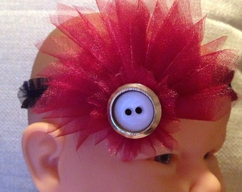 Red Infant Headband