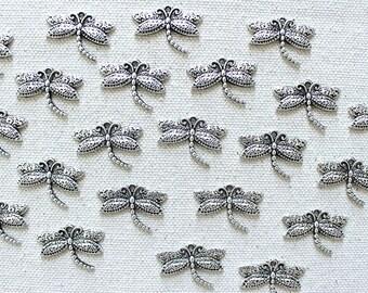 Silver Dragonfly Pushpins, Dragonfly Thumbtacks, Animal Push Pins, Insect Pins for Corkboard, Silver Tacks, Cute Thumbtacks, Silver Punaise