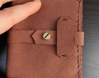 boar leather wallet