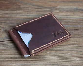 Money Clip Wallet, Voted Best Leather Wallet, Men's Leather Wallet, Mens Wallets, Groomsmen Gifts, Leather Wallets, Personalized Wallet