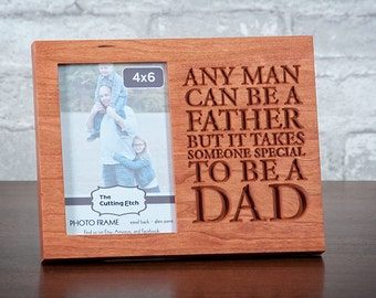 Custom Dad Frame, Dad Gift, Dad daughter, Dad son, Special Dad Gift