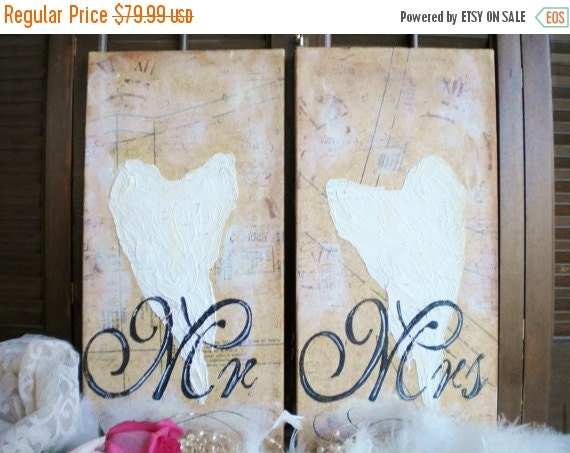 Sale Angel Wings Wall Decor Mr And Mrs Wall By Home Decorators Catalog Best Ideas of Home Decor and Design [homedecoratorscatalog.us]