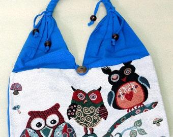 Shopping bag - owl - 1800