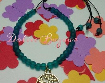 Tree of life string bracelet