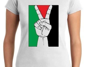 Military T0103 PALESTINE PEACE t-shirt