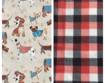 Fleece Dog Blanket(D237)