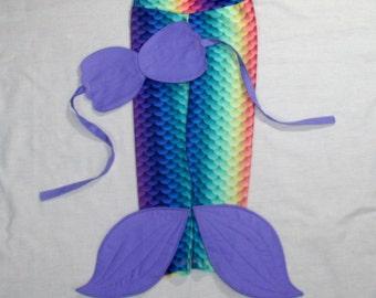 Rainbow Mermaid Pants. Mermaid Pants. Mermaid Costume. Mermaid Shell Top. Mermaid Tail. Mermaid Leggings.
