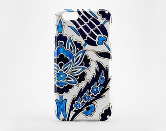 Moroccan iPhone 8 Case iPhone X Case Black Blue Phone Cover iPhone 7 Plus iPhone 6 Case iPhone 7 iPhone SE Case iPhone 5 Galaxy S7 S8 Case