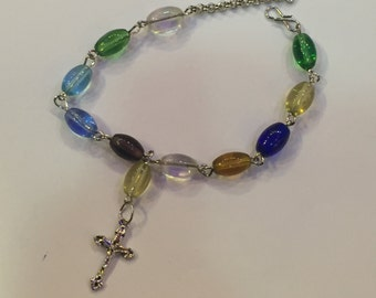 clear lustre quality zircon bracelet for women