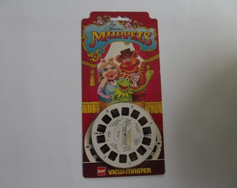 Muppet show vintage  view master reels