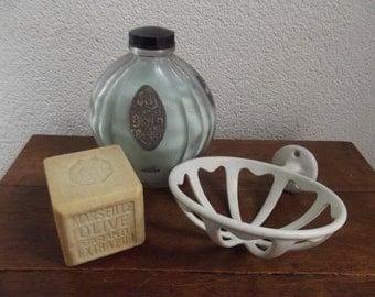 antique bathroom sponge holder, sponge dish, bathroom decoration