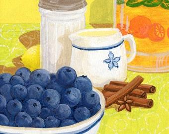 Blueberry Soup Print