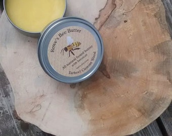 All Natural Wood Butter Cutting Board Butter Metal Rub ~ Food Safe ~ 4 ounces