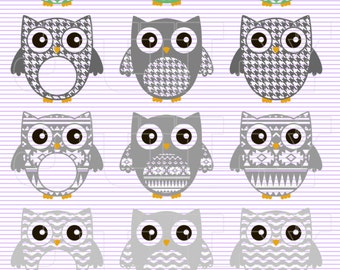 Owl svg files, Monogram Owl SVG,  dxf, ai, eps, png, Owl SVG, Monogram Owl Cut Out, Owls SVG cut files, Owls Monogram, Owls Cut