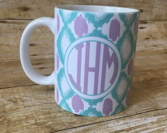 Monogrammed Sublimated Mug