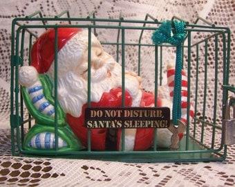 Do Not Disturb Santa Bank