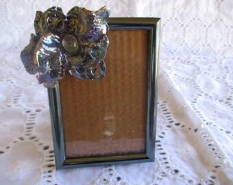 Picture Frame Desk Top Embellishment Silver