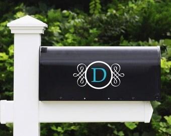 Mailbox Letter Vinyl Decal - Mailbox Decals, Mailbox Stickers, Custom Mailbox Name Decal,  Home Decor