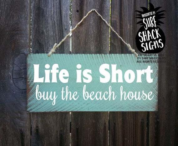 beach decor beach house sign hawaiian decor beach sign