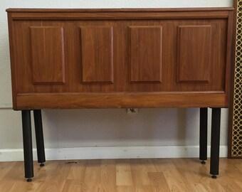 Vintage Modern Dry Bar Cabinet