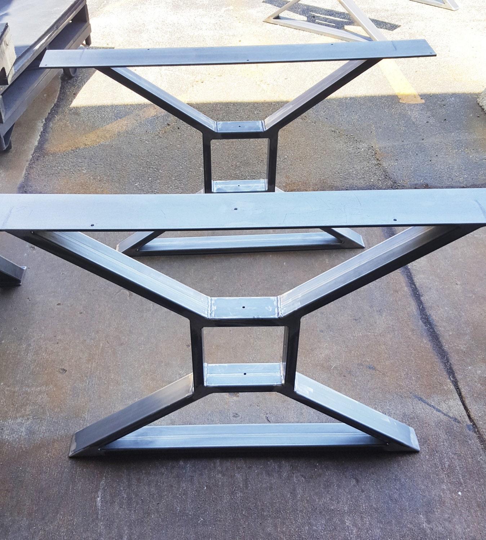 modern dining table x legs model tts09 heavy. Black Bedroom Furniture Sets. Home Design Ideas
