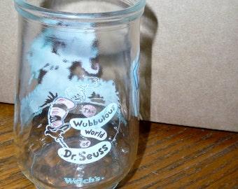 Dr Seuss Welch's  jelly jar