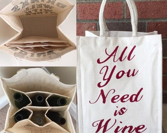All You Need is Wine Tote Bag