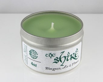 The Shire - 4 oz Candle - Book Candle