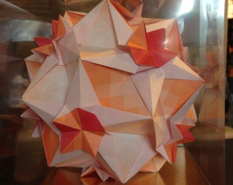 Origami Star Within Star Ball