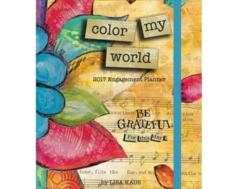 2017 Color My World Engagement  Planner