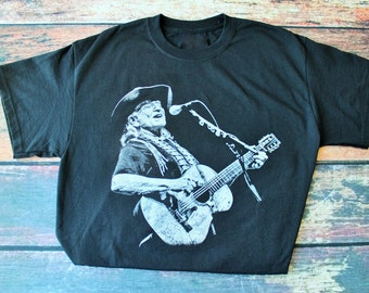 Willie Nelson Guitar T