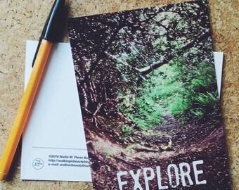 Explore Fine Art Photography Postcard