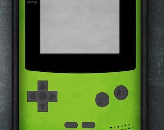 Nintendo Art Print - Gameboy Color