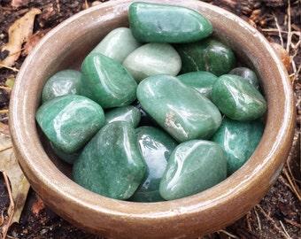 Green Aventurine, Tumbled