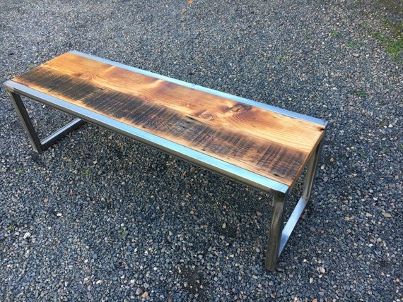 Industrial Coffee Table Reclaimed Wood By Urbanindustrialnw