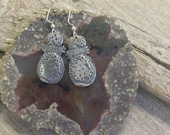 Ipu Fine Silver Earrings