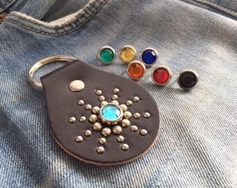 Rockabilly keychain