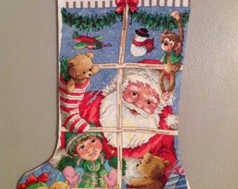Santa' Toys Stocking