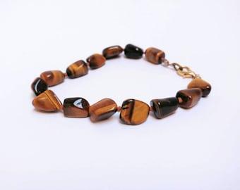 Vintage tigers eye bracelet