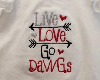 Live Love Go Dawgs!