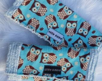 Boys Owl Burp Cloth
