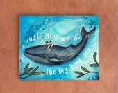 Just you & me card