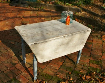 Sold - Drop side farm table