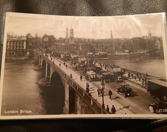 Vintage Postcard - London, London Bridge. Excellent condition!