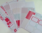 K4 // Romantic Holiday Limited Edition Sticker Kit // Perfect for Kikki-K, Filofax, and Erin Condren Planners!