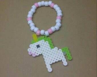 Unicorn kandi bracelets